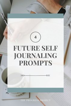 Learn 4 journaling prompts you can use to become your ideal future self, how you can set way more effective goals using this process, and how this type of journaling can help you make better decisions in your everyday life!