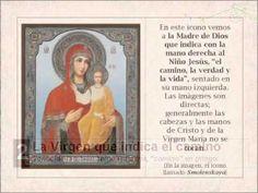 Sobre los iconos de la Virgen María