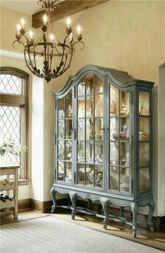 China Cabinet Hutch French Country Beautiful