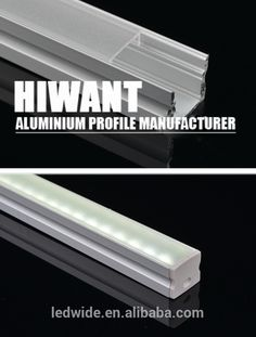 Hot selling anodized aluminium U and V channel profile light bar | factory price