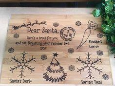 Santa's Night before Xmas Treat board by GrandadPats on Etsy