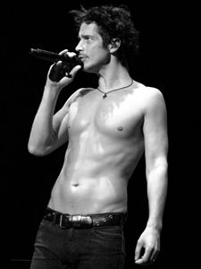 Chris Cornell. The best voice ever. And beautiful too.