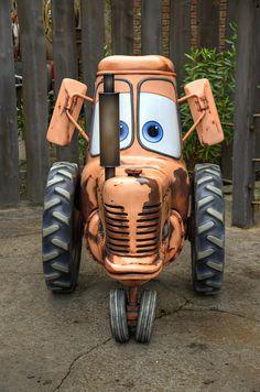 Tractor Tippin - Cars Land - Disney California Adventure