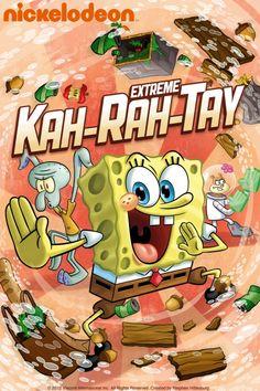SpongeBob SquarePants: SpongeBobs Extreme Kah-Rah-Tay Poster Artwork - Tom Kenny, Bill Fagerbakke, Rodger Bumpass - http://www.movie-poster-artwork-finder.com/spongebob-squarepants-spongebobs-extreme-kah-rah-tay-poster-artwork-tom-kenny-bill-fagerbakke-rodger-bumpass/