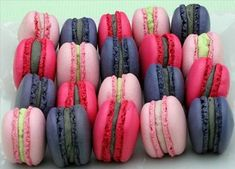 Recipe: Macaron w/Italian Meringue