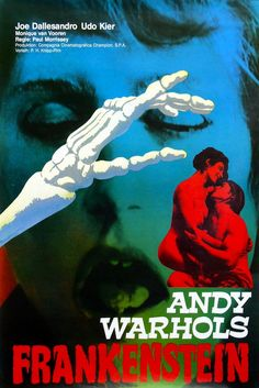 Best Horror Movies, Cult Movies, Horror Films, Scary Movies, Horror Movie Posters, Cinema Posters, Original Movie Posters, Andy Warhol, Creepy Pictures