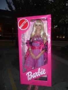 Barbie costume for Halloween
