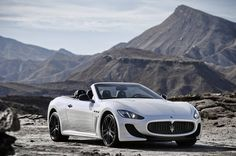 Maserati GranCabrio goes volcanic