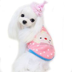 Binmer(TM) Pet Dog Puppy Funny Coat Vest Winter Warm Fleece Vest Clothes Apparel >>> Check out the image by visiting the link. (This is an affiliate link and I receive a commission for the sales)