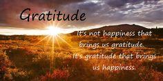 Happinessgratitude