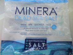"""Dead sea bath salts have been my latest """"go to"""" when I'm having trouble falling asleep.  I put a couple of scoops of these mineral rich salts in a hot tub and soak for at least 20"""".  So far this bath salt hasn't let me down and relaxes me so that I fall right to sleep."""
