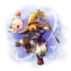 Vivi Ornitier & Moogle | Final Fantasy IX #game #illustration
