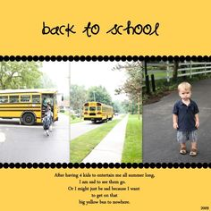 Scrapbooking with Picasa (from a mom of 6!)