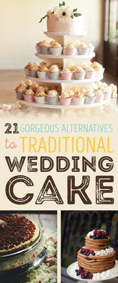 21 Beautiful Wedding Desserts That Are Better Than Traditional Cake