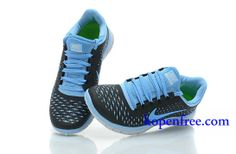 half off 53c5b dbeee Goedkoop Schoenen Nike Free 5.0 + Heren (kleur vamp-grijs binnen-blauw logo-zwart,zool-wit)  Online Winkel.   Nike Free 5.0 Kopen   Pinterest   Nike free