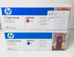 HP 123A Toner Set (Q3961A, Q3963A) for CLJ 2550, 2800, 2820, 2840 -