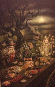 MAD HATTER'S TEA PARTY - ALICE IN WONDERLAND BY IAN DANIELS