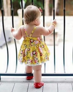 My Little Baby, Mom And Baby, Baby Love, Cute Baby Girl Pictures, Baby Photos, Cute Toddlers, Cute Kids, Baby Girl Dresses, Baby Dress