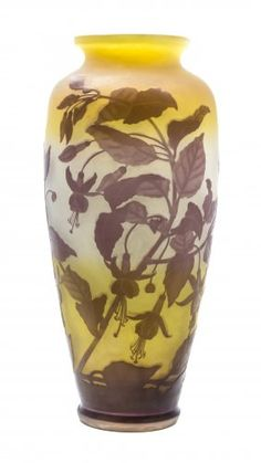 Emile Galle glass
