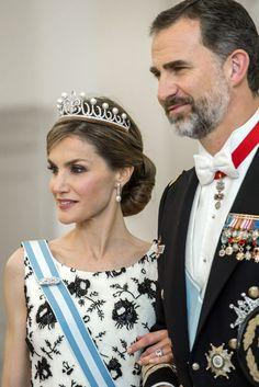 Los looks de trabajo de la Reina Letizia: 2015 (Parte II)  Copenhage, Abril de 2015  Los Reyes asistieron a las celebraciones por el 75 cumpleaños de la Reina Margarita de Dinamarca. Copenhage, Abril de 2015