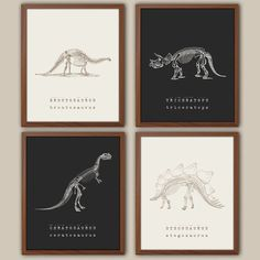 Dinosaur Wall Art Kids Dinosaur Art Baby Boy Nursery Art Dinosaur prints Playroom Wall Decor Natural History Boys Room Decor is part of Nursery art boy s can be selected from the drop down men - Playroom Wall Decor, Boys Room Decor, Bedroom Kids, Trendy Bedroom, Baby Bedroom, Baby Boy Rooms, Baby Boy Nurseries, Room Baby, Room Ideias