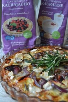 punajuuri-vuohenjuustopiiras Joko, Vegetable Pizza, Sandwiches, Toast, Rolls, Food And Drink, Chicken, Baking, Burgers
