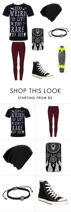 """""""Untitled #62"""" by darksoul7 on Polyvore featuring Killstar, King Baby Studio and Converse"""