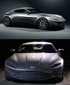 """There's a new James Bond 007 movie called """"Spectre."""" You know what that means! New James Bond car! Here's the Aston Martin DB10. #JamesBondIsAll"""