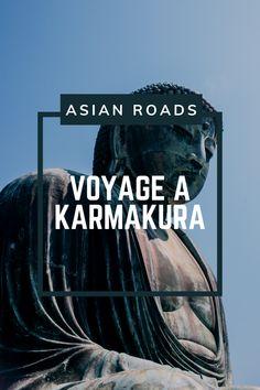 Découvrez cette petite ville authentique du sud-ouest de Tokyo, qui possède ce buddha exceptionnel de plus 13 mètres de hauteur ! Kamakura, Authentique, Roads, Tokyo, Movie Posters, Movies, Travel, Small Towns, Road Routes