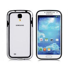 TPU Black Bumper Case for Samsung Galaxy S4