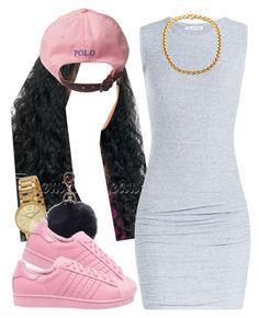 """""""."""" by trillest-queen ❤ liked on Polyvore featuring mode, Marc by Marc Jacobs, James Perse et adidas Originals"""