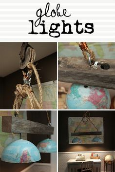 globe lights & Pulley