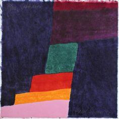 Carol Summers - Sakkara (woodcut) 2000