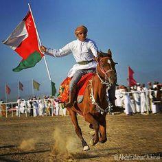 Proud Omani Knight . 18th November -Oman national Day