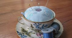 Voodoo Molly Vintage: Teacup Pin Cushion - TUTORIAL