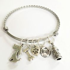 Its All About...You I Love My Dog Clip on Charm Perfect for Necklaces and Bracelets 97U