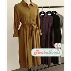 Buy 'JVL – Long-Sleeve Tie-Waist Shirtdress' with Free Shipping at YesStyle.ca. Browse and shop for thousands of Asian fashion items from China and more!