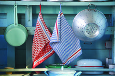 Scandi-style dishcloths