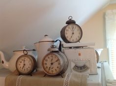 For the love of clocks