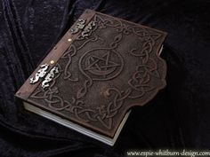 Book of Shadows Magic / Magick book  / Journal / Grimoire / Spell Book / Notebook / Visual Diary / Hardcover - Carved