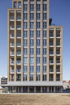 Rosa Toren | Appartementencomplex   K Vision Kozijnen   Profine
