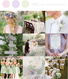1000 Images About Wedding Colors On Pinterest Lavender