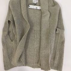 Olive+Oak Sweater Vest Oversized Grey sweater vest. Open front. Cozy for these cold days! And light enough for spring to come! & NWT! Olive & Oak Sweaters Shrugs & Ponchos