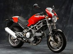 Ducati Monster 620 Capirex - Red and silver