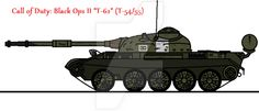 Call of Duty: Black Ops II T-62 by thesketchydude13.deviantart.com on @DeviantArt