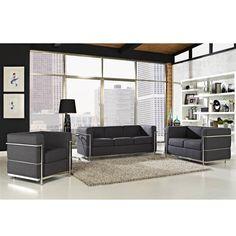 Lowest price online on Modway Charles Petite Loveseat in Dark Gray - Affordable Furniture, Furniture Store, Sofa Design, Living Room Sets, Furniture, Home Decor, Elegant Sofa, Living Room Furniture, Modway Furniture