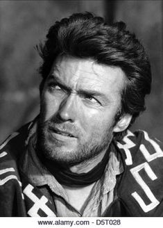 CLINT EASTWOOD A FISTFUL OF DOLLARS; PER UN PUGNO DI DOLLARI (1964) - Stock Image