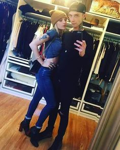 Juliet Simms and Andy Biersack Black Viel Brides, Black Veil Brides Andy, Vail Bride, Andy Biersak, Thin Lizzy, Andy Black, Of Mice And Men, Pierce The Veil, My People
