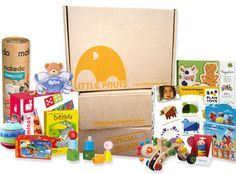 Little Pnuts -- Monthly Subscription -- curated infant toys