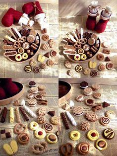 Felt baked goods